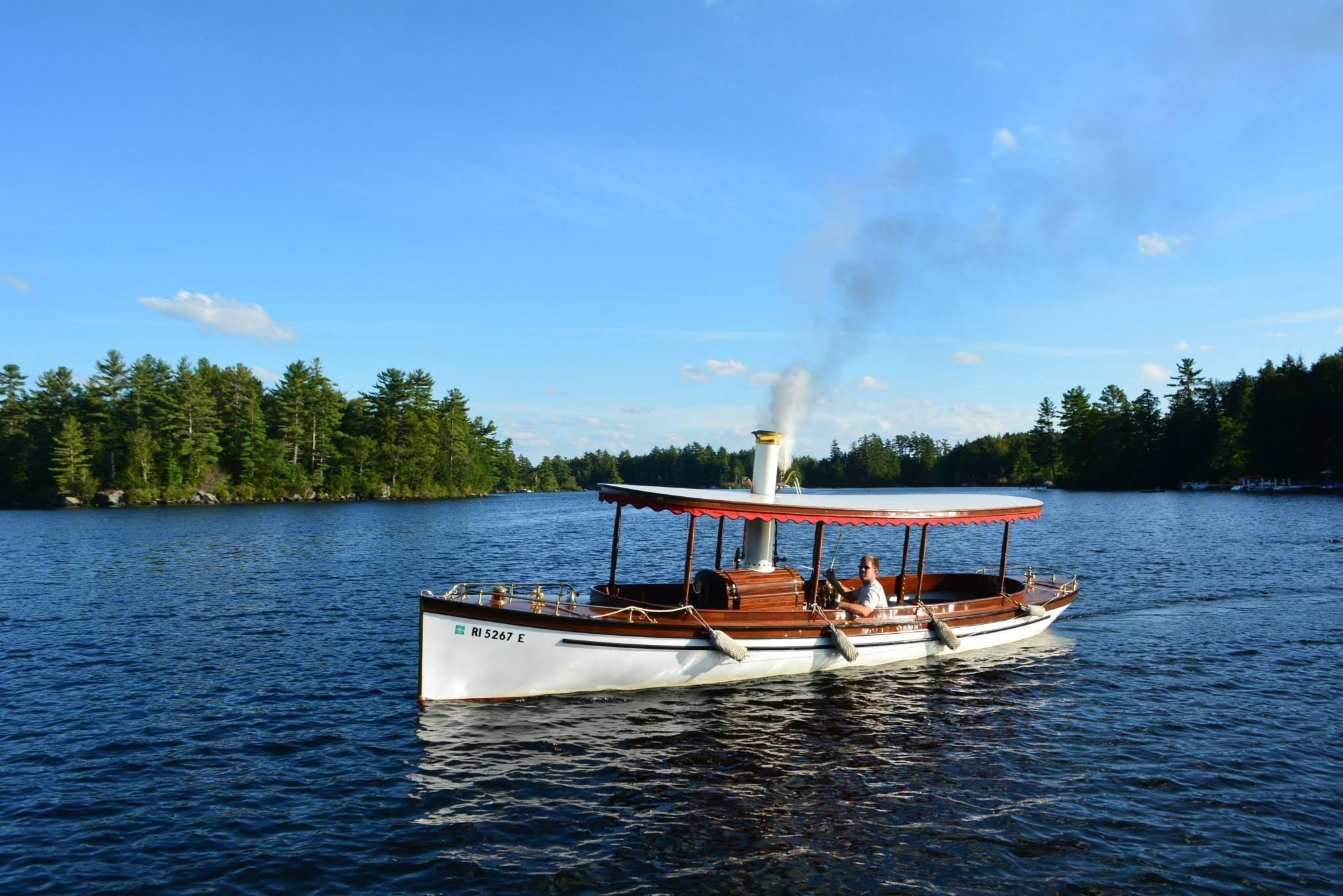 1985 Custom Steam Powered Launch Power Boat For Sale - www ...