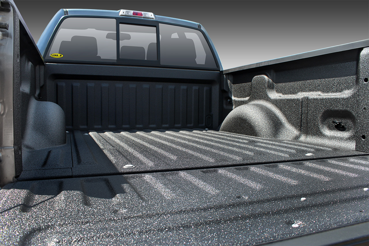 Protective Coating Spray On Bed Liner Truck Accessories