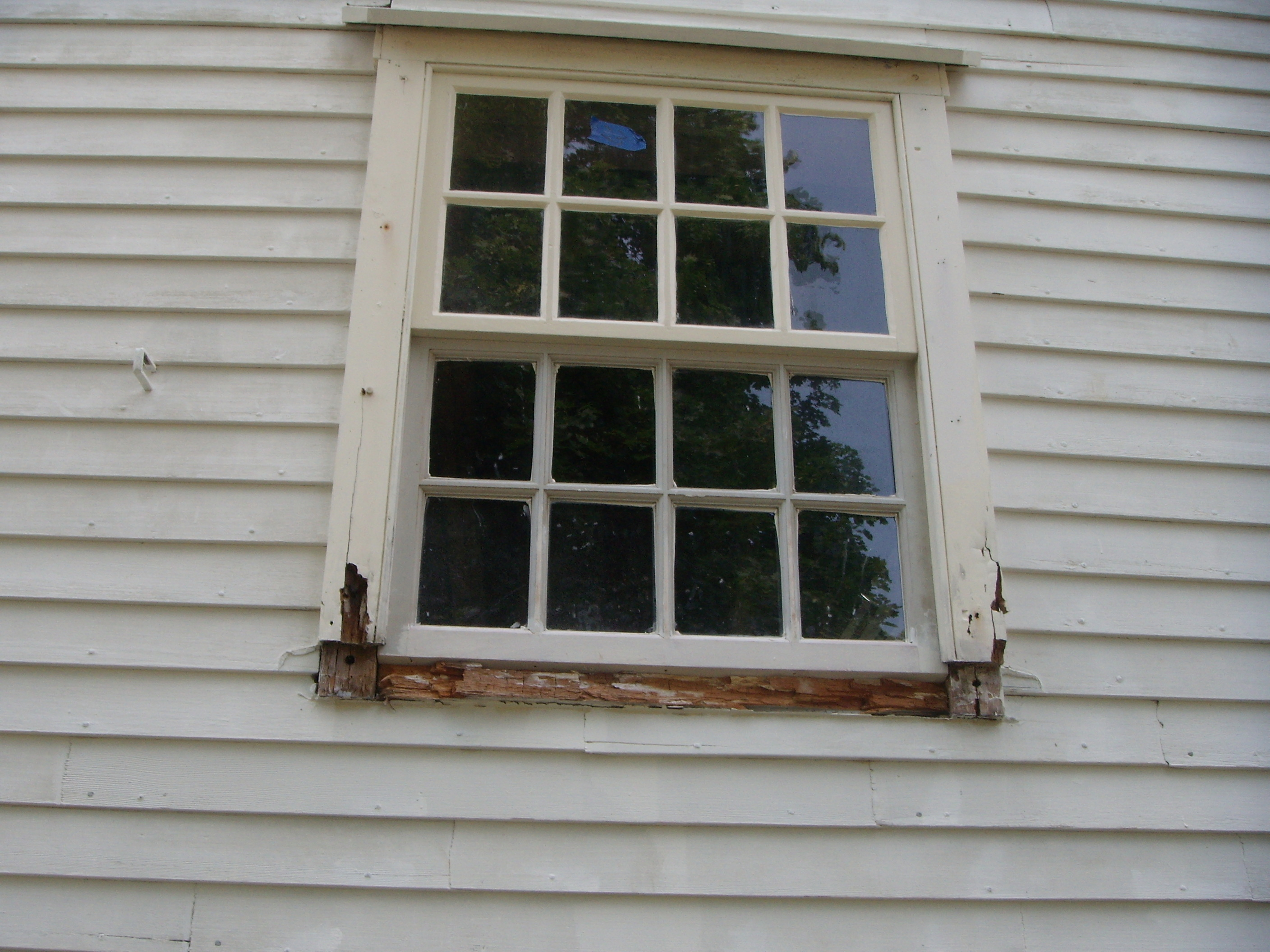 Old Homes Windows Storm