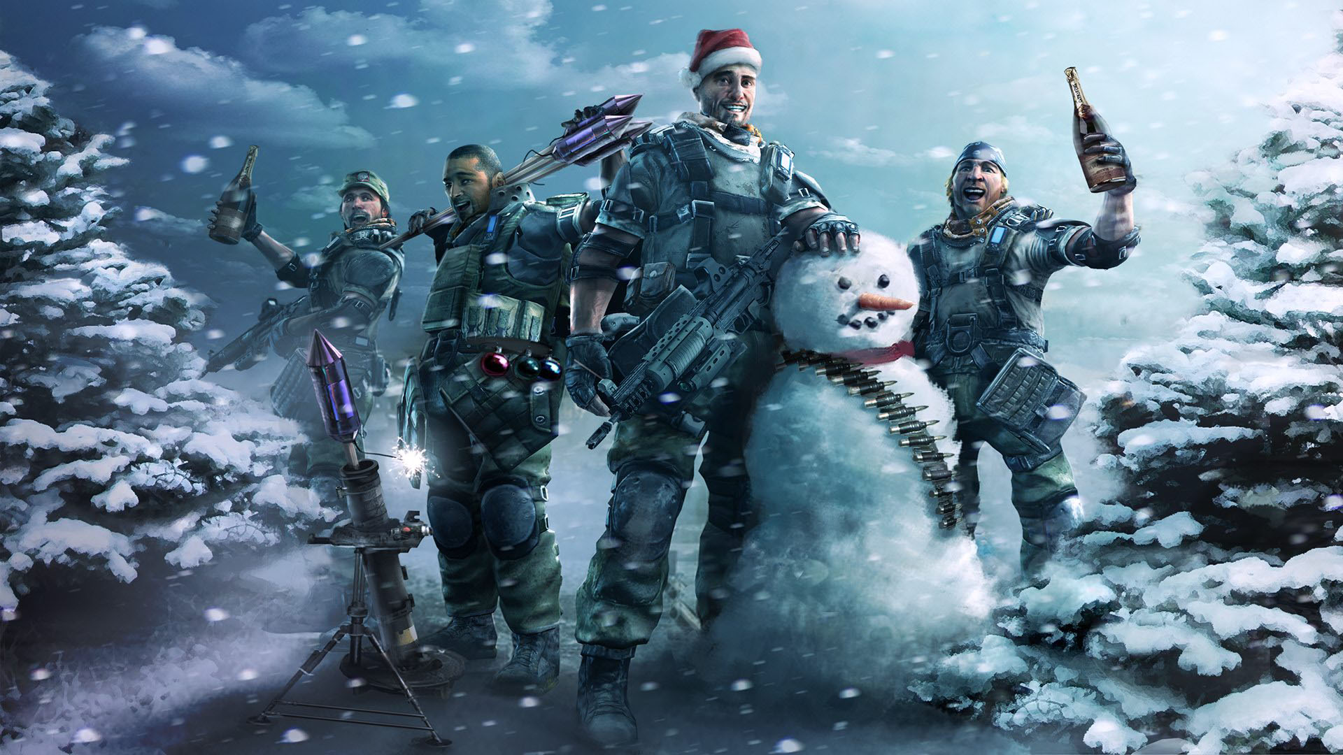 Top 10 PC Games to Play on Christmas Killzone Christmas party