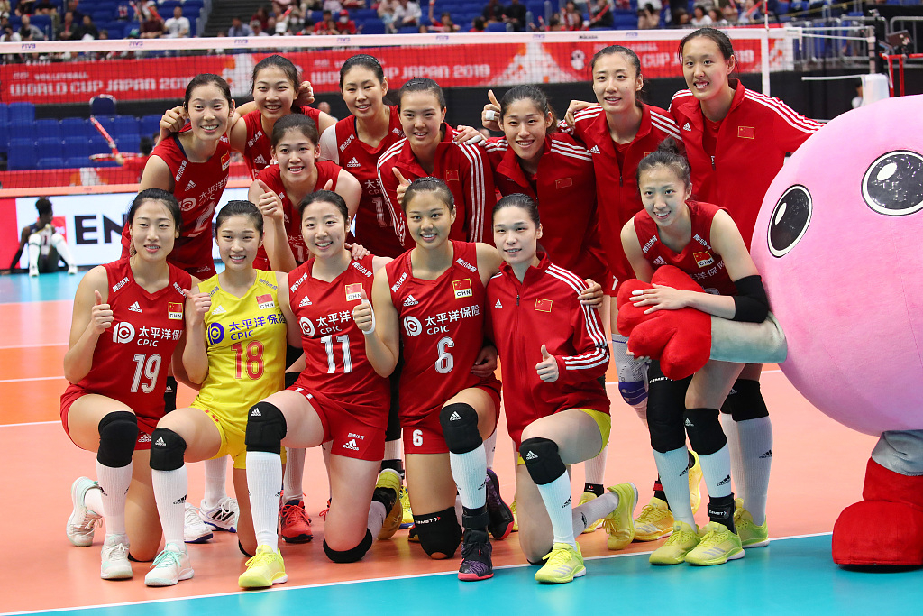 China capture 4th straight victory at FIVB Women's World ...