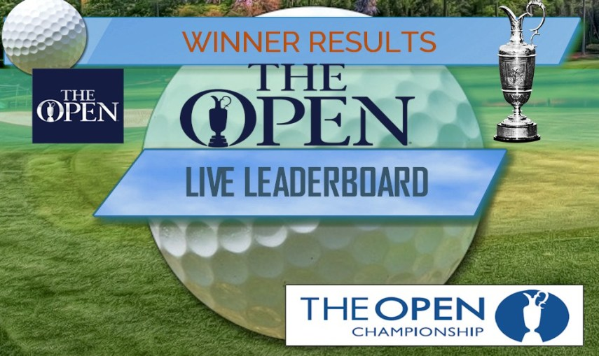 The Open Leaderboard  The Open Championship Final Golf Results