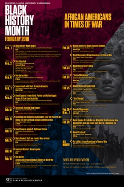 Numerous Events Honor Siu S 2018 Black History Month