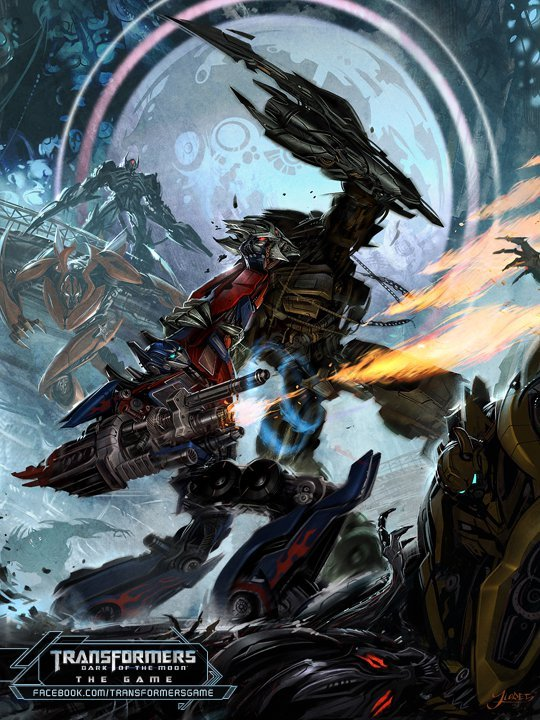 Transformers: Dark Of The Moon Game Art #2 - Transformers ...