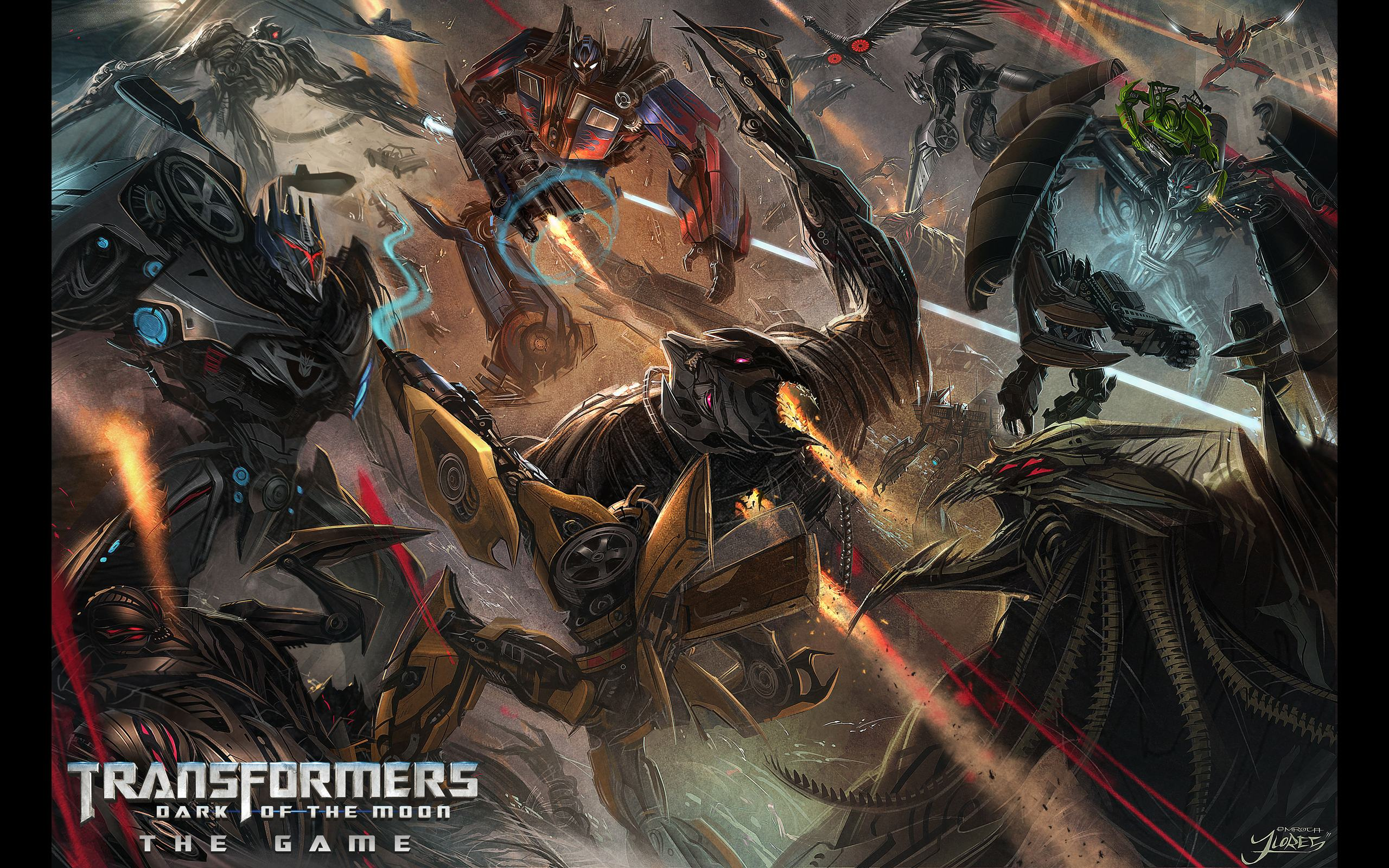 Transformers Dark of the Moon Game Wallpapers ...