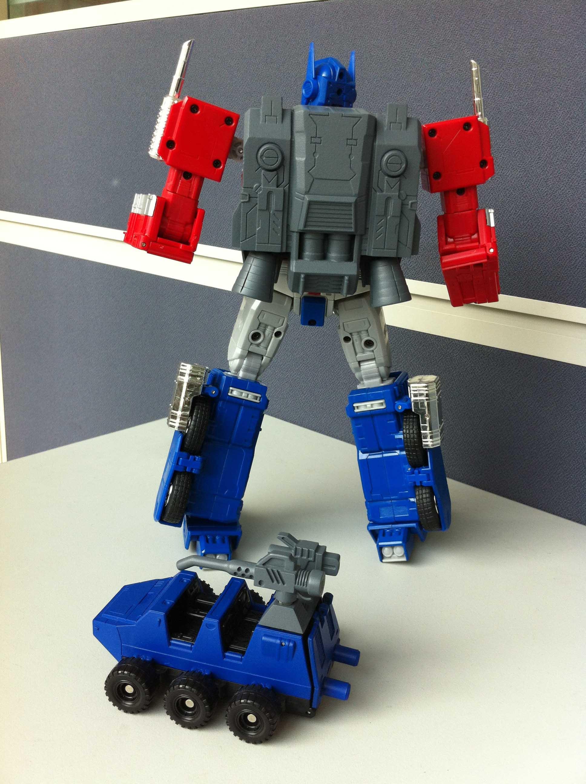 Optimus Prime Vs Optimus Prime