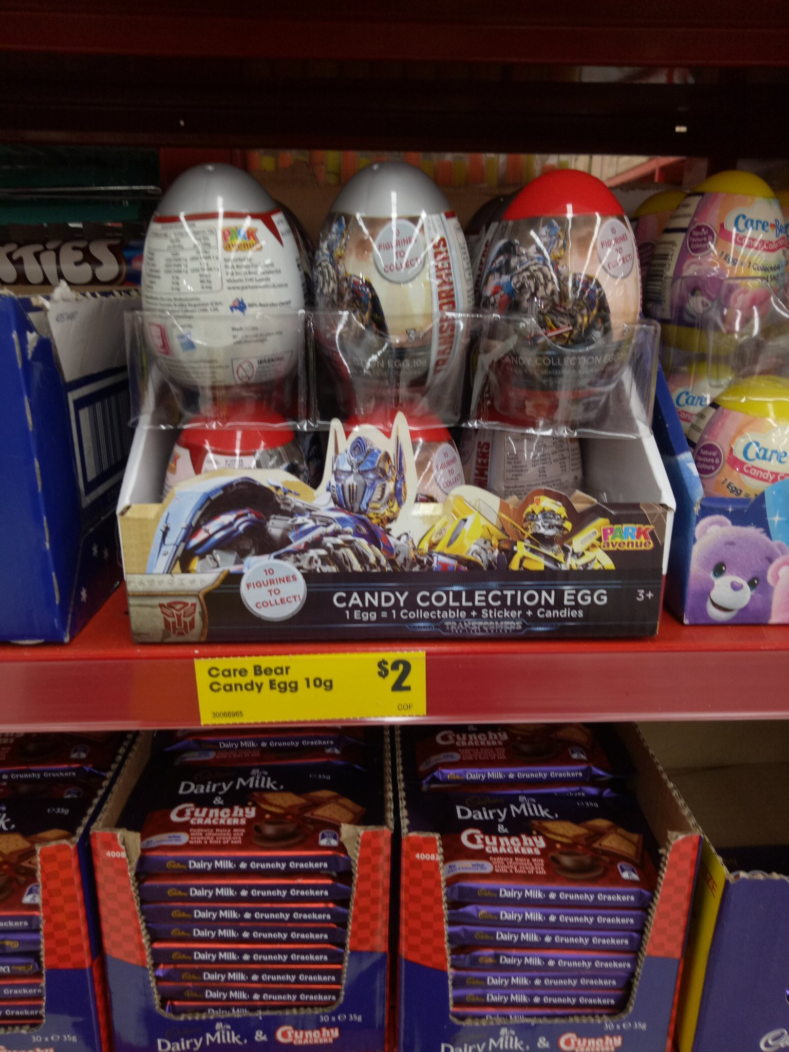 Transformers The Last Knight Candy Collection Egg