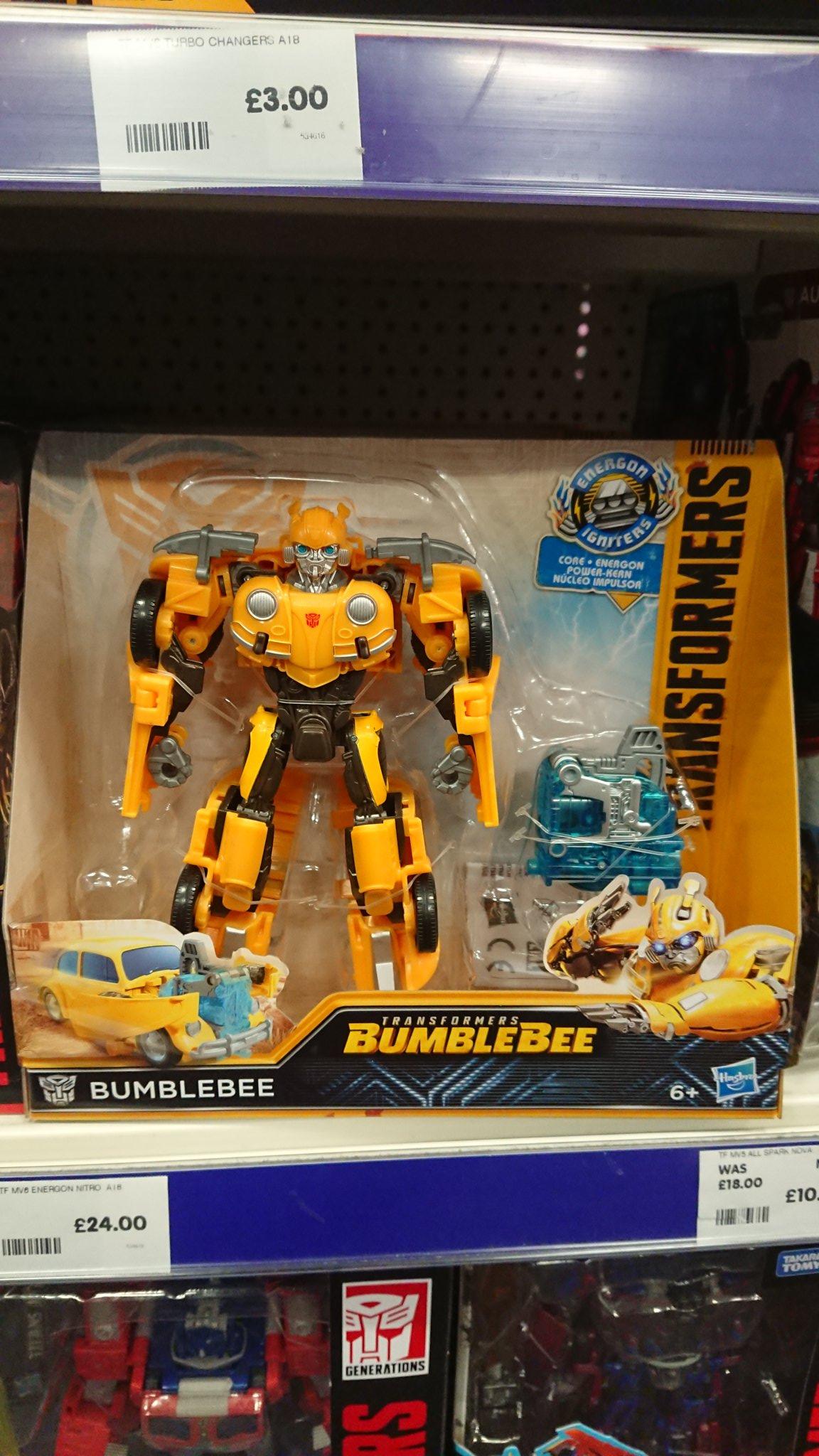 3 Shockwave Transformers Toy