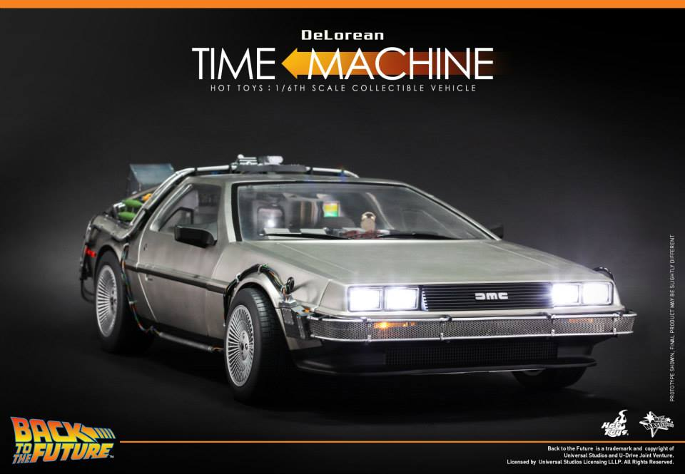 Back To The Future Delorean By Hot Toys The Toyark News