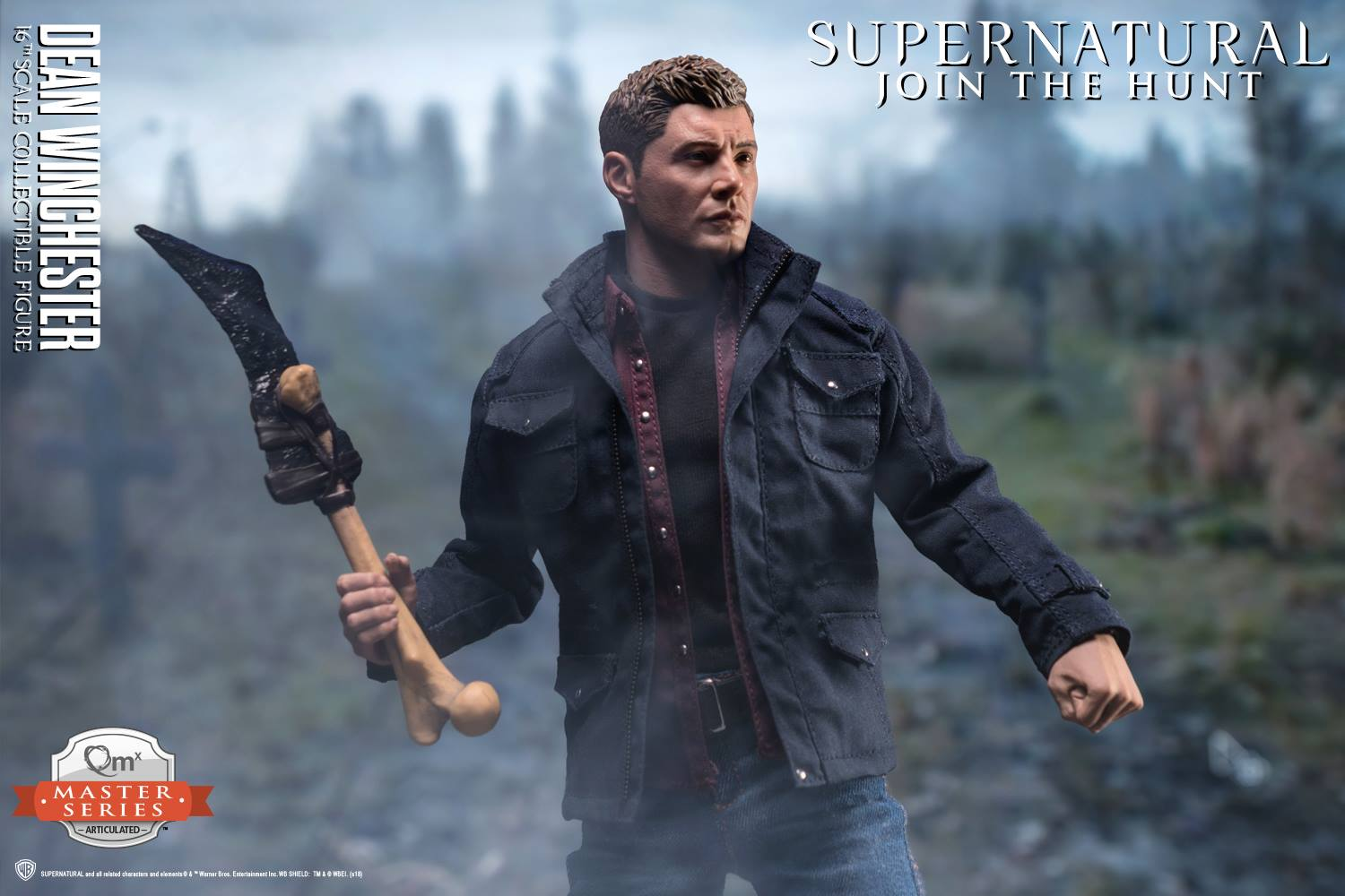 Supernatural Dean Winchester 1/6 Scale Figure by QMX - The ...