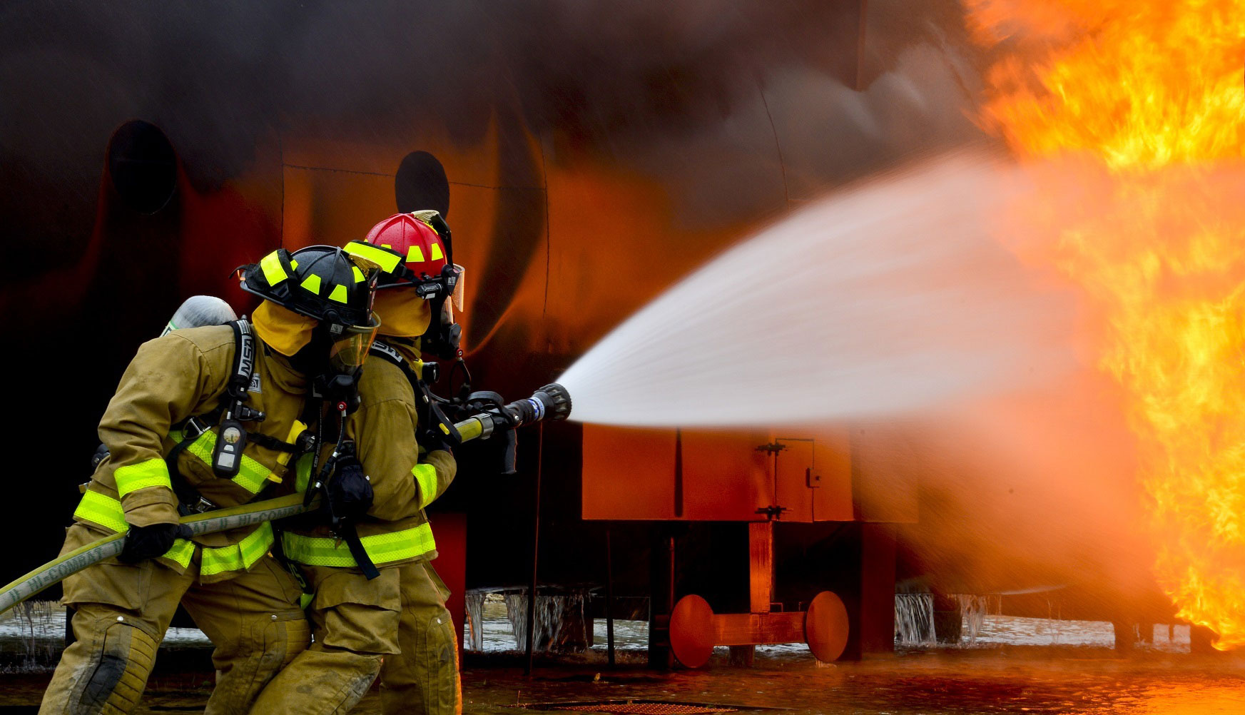 Research Helps Firefighters Stay Safe U Of G News