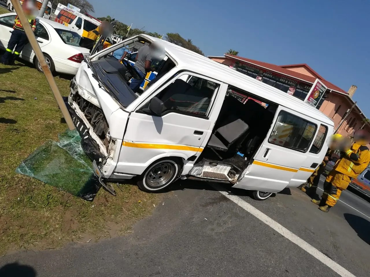 Six injured in South Coast accident | News365 co za