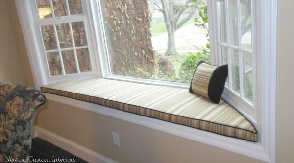 How Sew Window Seat Cushions