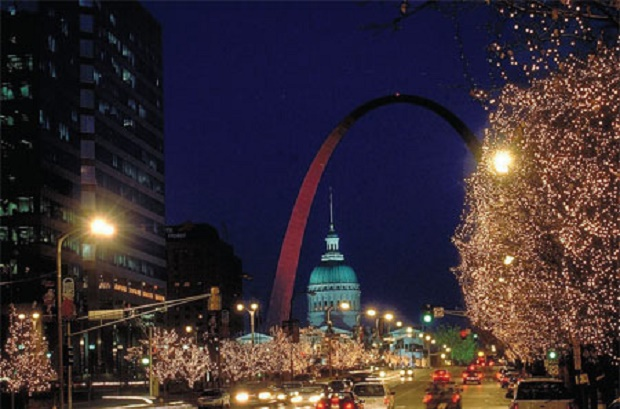 Christmas Lights St Louis