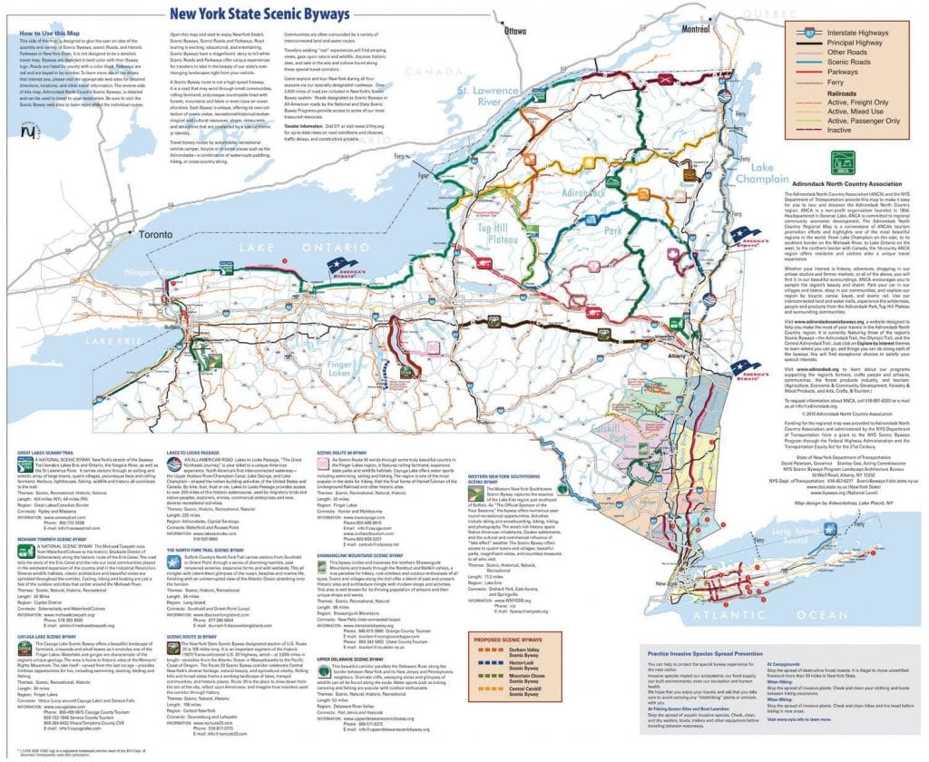 Scenic Byways New York