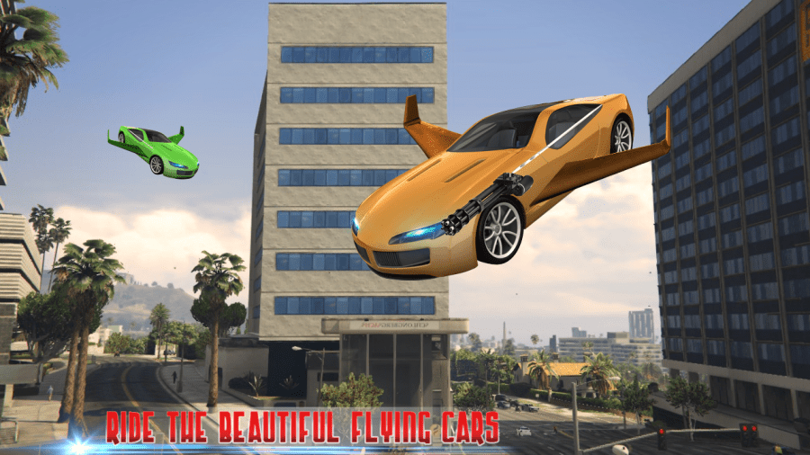 5 Best Flying Car Games for Android