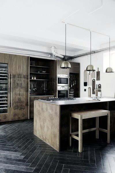 Top 50 Best Kitchen Floor Tile Ideas Flooring Designs