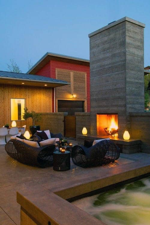 Grey Stone Patio