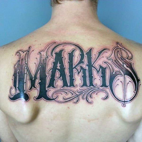 Last Name Tattoo Rendon