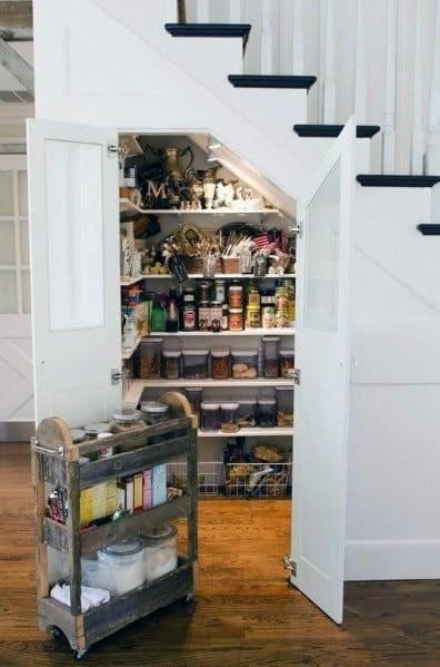 Top 70 Best Under Stairs Ideas Storage Designs | Kitchen Under Stairs Design | Stair Case | Wet Bar | Basement Stairs | Living Room | Basement Kitchenette