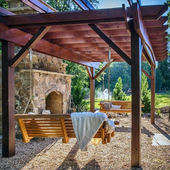 Top 40 Best Gravel Patio Ideas Backyard Designs