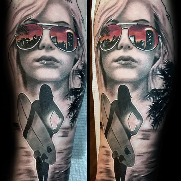 Private Girl Part Tattoo
