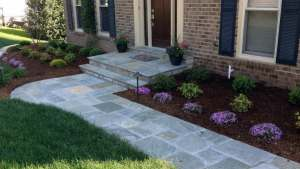 Top 40 Best Flagstone Walkway Ideas Hardscape Path Designs