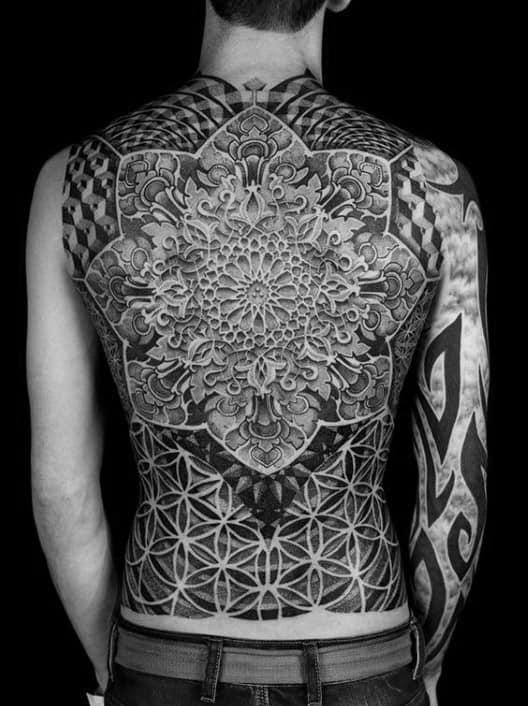Black Rose Tattoos Men