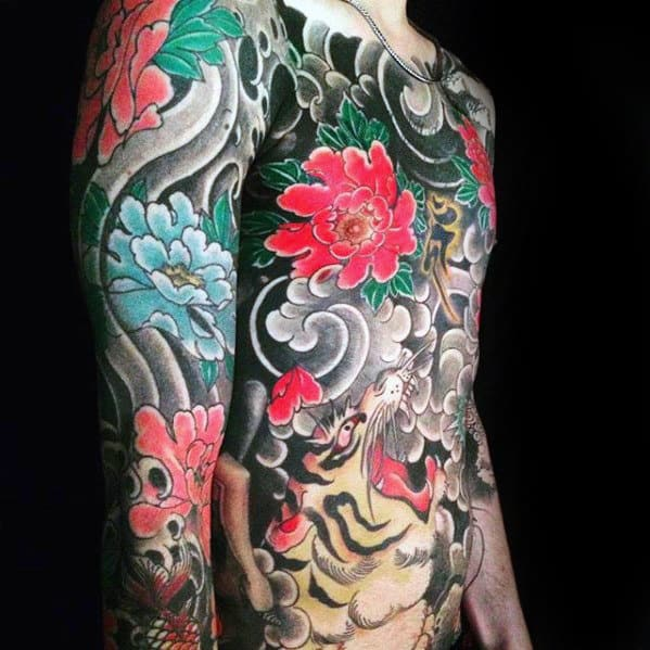 Carnation Tattoo Arm