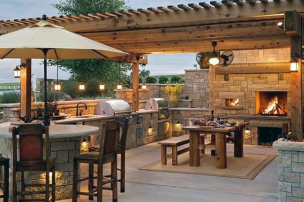 Top 50 Best Backyard Pavilion Ideas Covered Outdoor