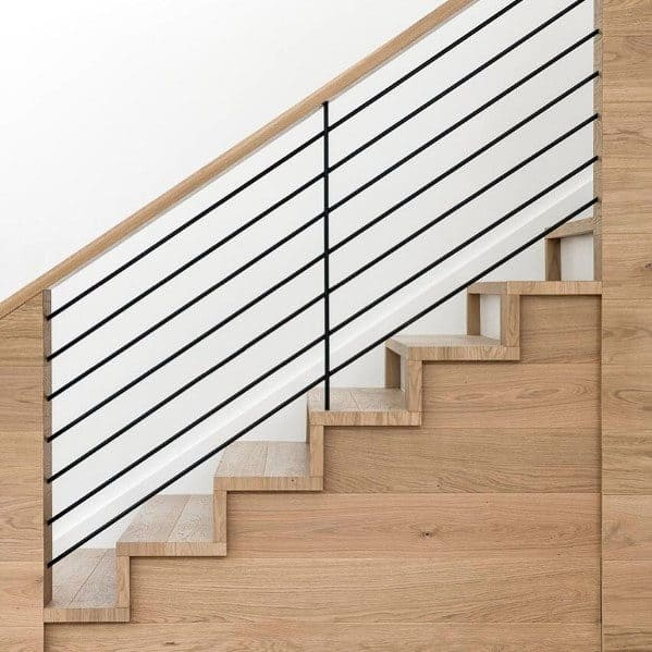 Top 70 Best Stair Railing Ideas Indoor Staircase Designs | Wood Stair Railings Interior | Cable Stair Railing | Timeless | Before And After | Colonial | 2Nd Floor