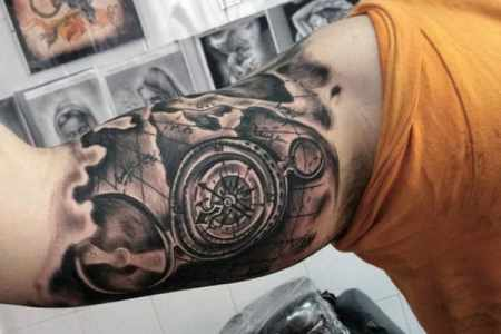 Compass and map tattoos for men full hd pictures 4k ultra full amazing compass tattoo designs compass tattoos best compass tattoo designs wild tattoo art ideal placement for compass tattoos california map tattoo best gumiabroncs Gallery
