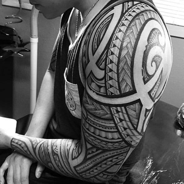 Tribal Filipino Tattoo Forearm 2019