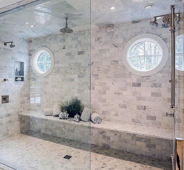 Top 50 Best Shower Bench Ideas Relaxing Bathroom Seat