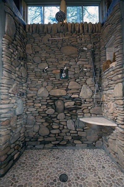 Top 70 Best Cool Showers Unique Bathroom Design Ideas