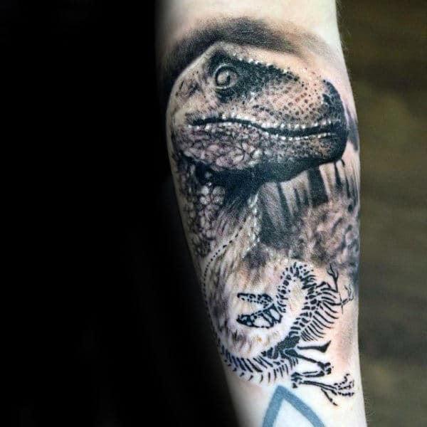 Arm Dragon Tattoos Men