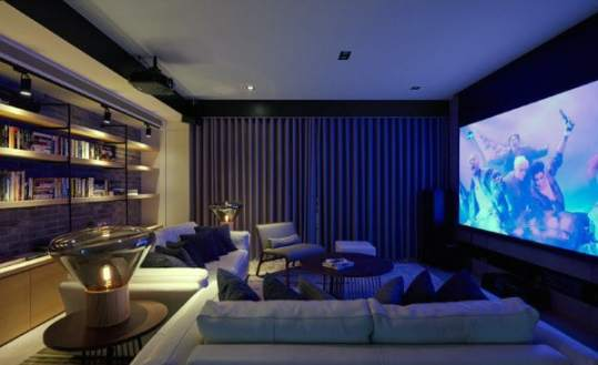 80 Home Theater Design Ideas For Men   Movie Room Retreats Small Private Home Theater Designs