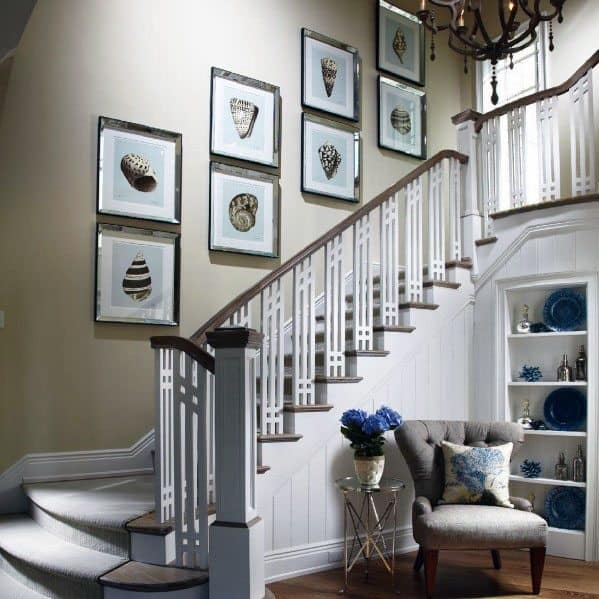 Top 70 Best Stair Railing Ideas Indoor Staircase Designs | House Stair Railing Design | Ancient | Exterior | Simple | Scandinavian | Ss Banister