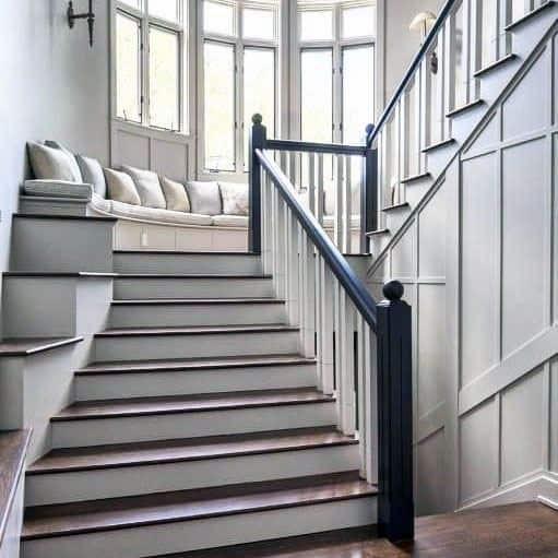 Top 70 Best Stair Railing Ideas Indoor Staircase Designs | Stair Railing Designs Interior | Exterior | Creative | Antique | Scandinavian | Rod Iron