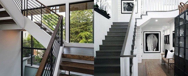 Top 50 Best Wood Stairs Ideas Wooden Staircase Designs | Staircase Design Steel And Wood | Angle Bar Stair | U Shaped Stair | Simple | Wooden Step | Open