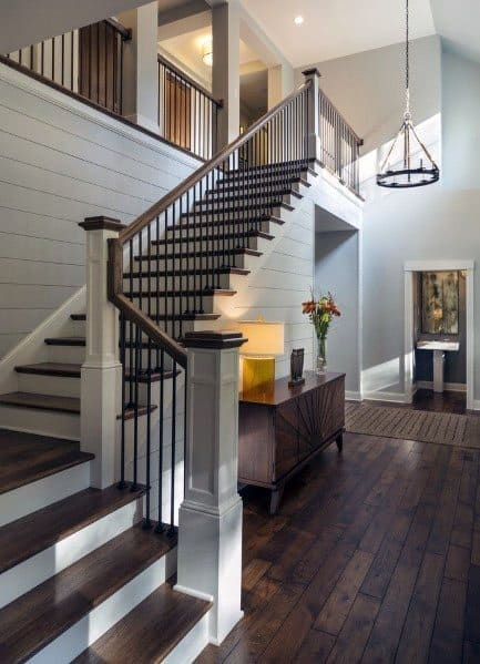 Top 70 Best Stair Railing Ideas Indoor Staircase Designs | Wood And Metal Stair Railing | Outdoor | Modern | Newel Post | Basement | Contemporary