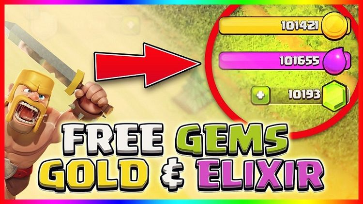 hack gems clash of clans trên android