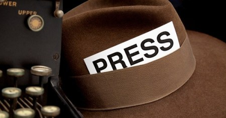 Why You Should Take Journalism Next Year      The Arrowhead Newspaper Reporter s Press Pass in Hat  White Background