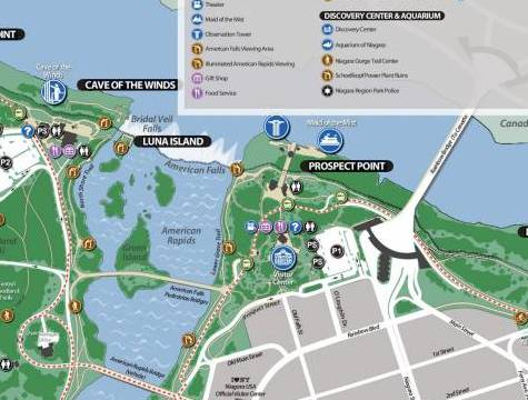 HD Decor Images » Niagara Falls State Park Map  Easy Download for Travelers  Brochure and Map of Niagara Falls State Park