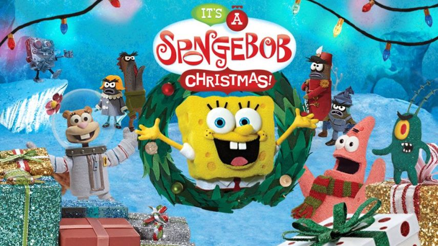 SpongeBob SquarePants  It s a SpongeBob Christmas Strategy Games