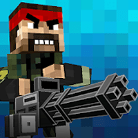 download Pixel Fury Multiplayer in 3D Apk Mod unlimited money