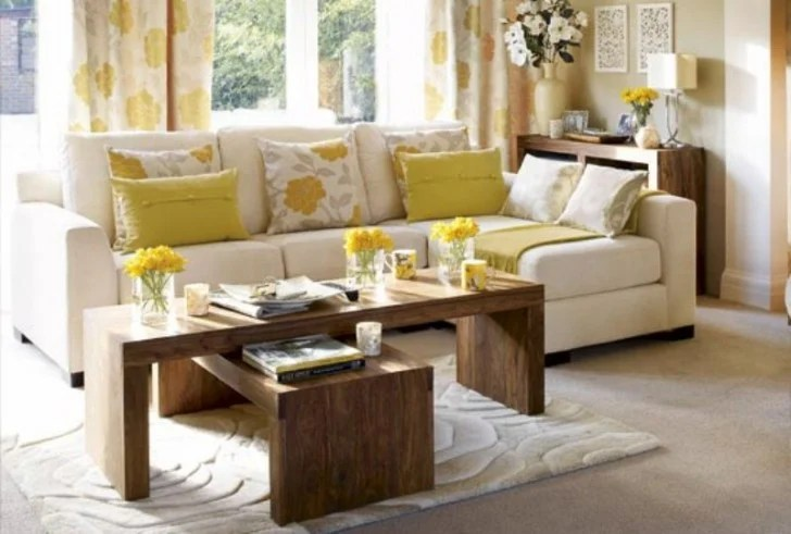 20 of the Most Stunning Small Living Room Ideas Image via www goodhousekeeping com