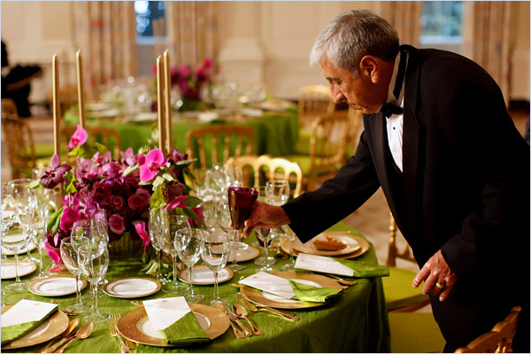 Voted Off The Island State Dinner The Dress The Menu