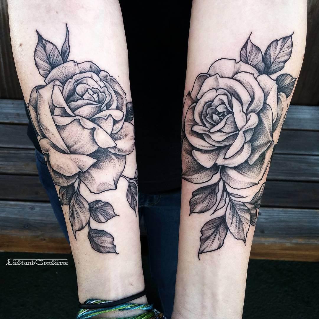 27 Inspiring Rose Tattoos Designs Page 20 Of 27 Ninja