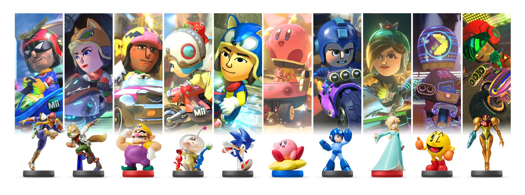 U Mario 8 Nintendo Kart Deluxe Wii Set